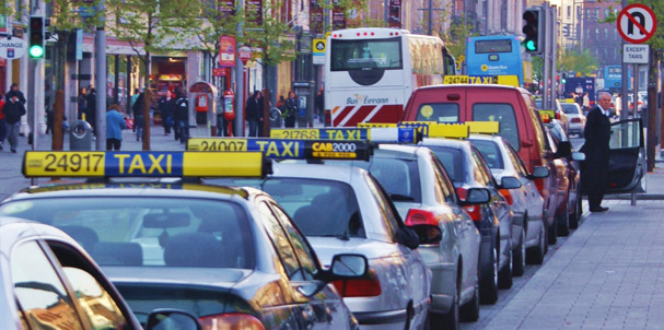 Irish Drivers Subsidised Taxi Fare Proposal